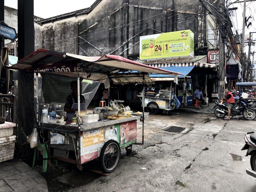 Designstudentin besucht den Fresh Market in Phuket Town