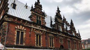 Designstudentin in Haarlem