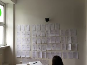 Designstudenten entwickeln Ideen