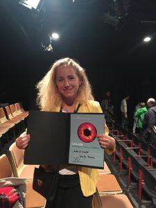 Designstudentin Jennifer Braune gewinnt den Sonderpreis