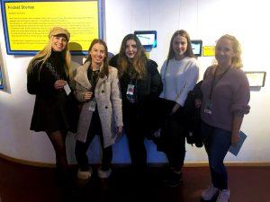 Designstudentinnen aus Frankfurt nehmen an der Visionalen Teil