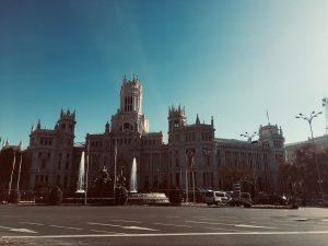 Das Rathaus von Madrid