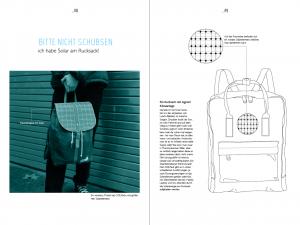 Designstudentin gestaltet ein Magazin