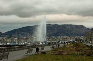 Designstudent besucht Genf