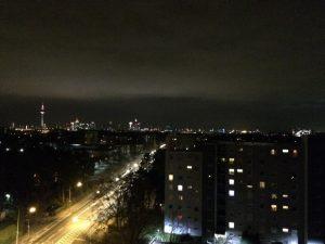 FFM Skyline bei Nacht