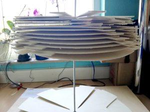 Designstudentin aus Frankfurt testet für ihren Kalender