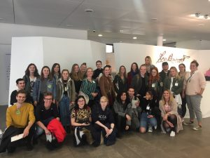 European School of Design zu Besuch bei Leo Burnett