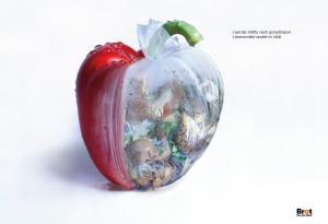 Lebensmittel landen im Müll von ESOD Studentin Sophia Stendebach
