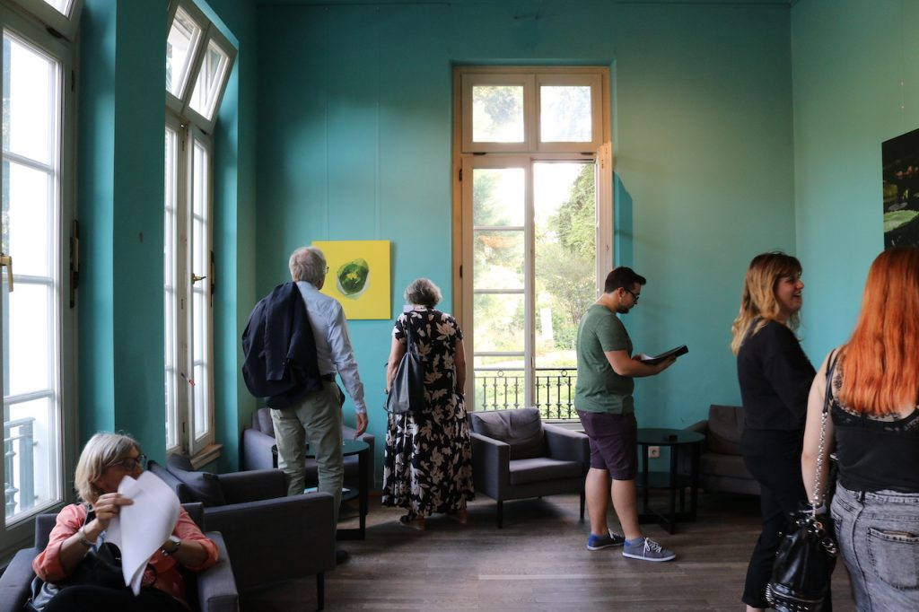 Vernissage der ESOD in der Villa Leonhardi
