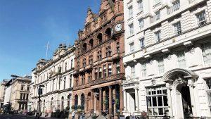 Designstudentin erkundet Glasgow