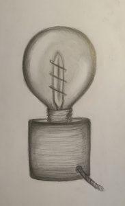 Design Studenten üben Zeichnen