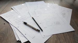 Viele Ideen im Designstudium