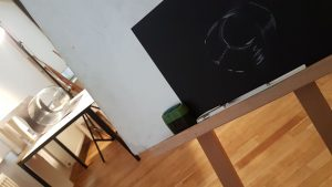 Design studieren im Zeichnen Kurs