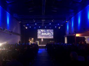 Designstudent auf der DDC Gala