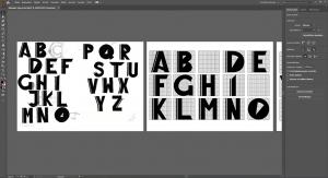 Typografie im Designstudium
