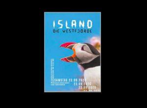 Typographie Plakat Island