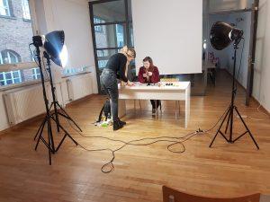 Behind the Scenes vom Klappbuch