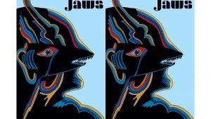 Re-deign Jaws Plakat
