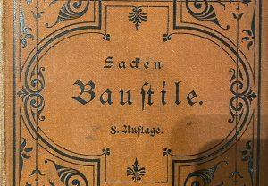 Typografie Suche nach gebrochenen Schriften