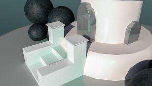 Designstudentin übt sich in 3D