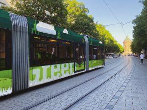 Straßenbahn gestalten