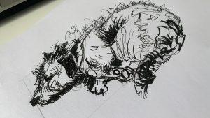zeichnen im designstudium