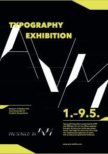 Typografie auf Plakaten