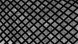 gitter pattern design studium frankfurt lea gemmerich