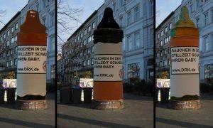 dummies designstudium litfasssäule lea gemmerich frankfurt