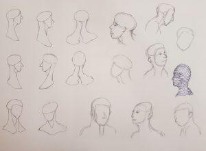 Prozess im Zeichnen Kurs