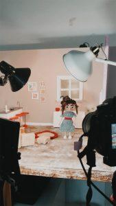 Designstudentinnen drehen Trickfilm2