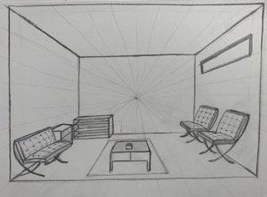 Zentralperspektive  Design Studium