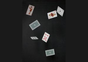fliegende Karten