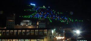 Weihnachtsbaum Gubbio