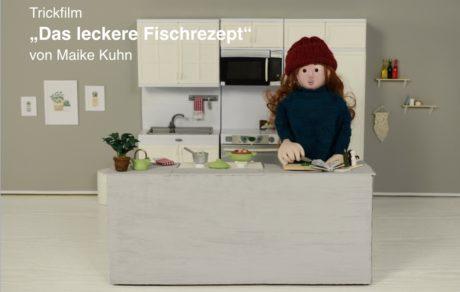 """werkschau / trickfilm """"das leckere fischrezept"""""""