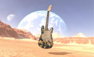 Designstudent baut Gitarre 3D