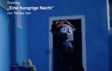 """werkschau / trickfilm """"eine hungrige nacht"""""""