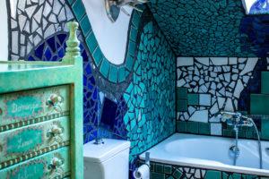 Innenansicht Bad Hundertwasserhaus
