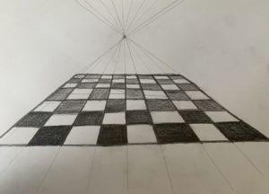 Zeichnen Fluchtpunkt