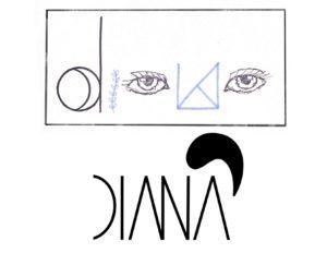 Designstudent experimentiert mit Typografie und Logo-Design