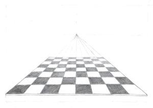 Zeichnung Schachbrett