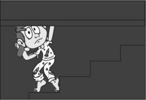 Animatic zeichnen für einen Trickfilm