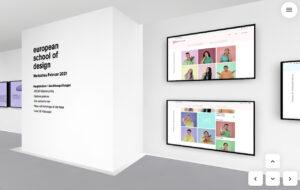 Virtuelle Werkschau European School of Design