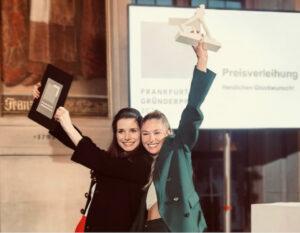 ESOD-Absolventinnen Laura Mohn und Maria Möller gewinnen Franfurter Gründerpreis